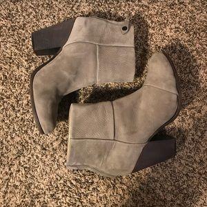 Rag & Bone, Newbury boot, gray suede, 39